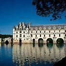 """"""" Le château de Chenonceau """" by jean-jean"""