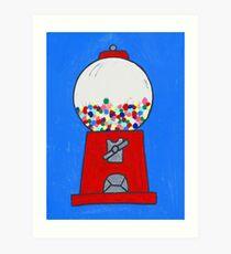 Gumball machine Art Print