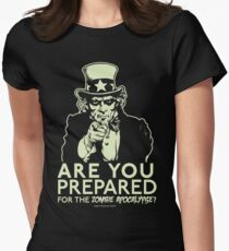 Zombie Apocalypse Women's Fitted T-Shirt