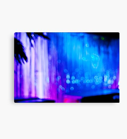 Abstract #12 - Curtain of Light Canvas Print