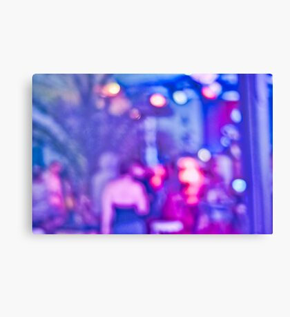Abstract #13 - Purple People Canvas Print