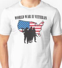 World War II Veteran T-Shirt T-Shirt