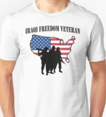 Iraqi Freedom Veteran T-Shirt Unisex T-Shirt