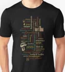 Downton Abbey Word Mosaic T-Shirt