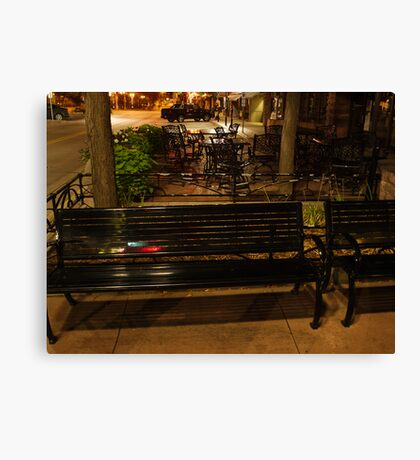 Downtown Sioux Falls at 4:30 AM Canvas Print