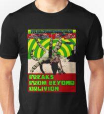 Freaks From Beyond Oblivion Alien Black  Unisex T-Shirt