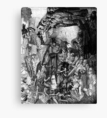 The Childs Nightmare. Canvas Print