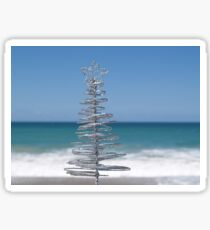 Silver Tree Sticker
