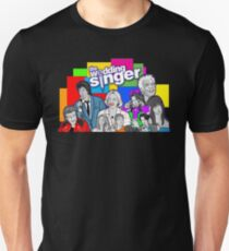 the Wedding Singer character collage T-Shirt