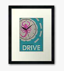 Drive - Minimalist Movie Poster Framed Print