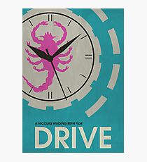 Drive - Minimalist Movie Poster Photographic Print