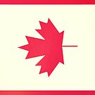 canadian flag's leaf by buselikmakami