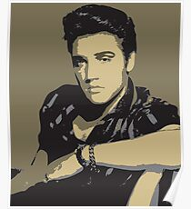 Elvis Presley - Pop Art Portrait Poster