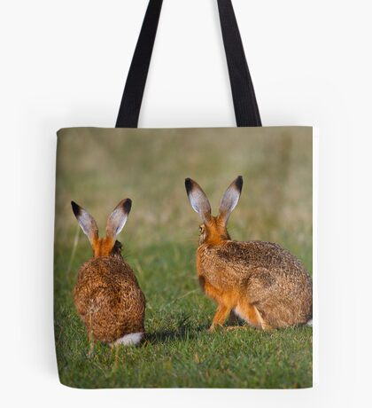 Hares Have Ears Tote Bag