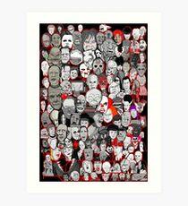 Titans of Horror Art Print