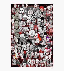 Titans of Horror Photographic Print