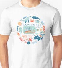 Take Me to the Sea Slim Fit T-Shirt