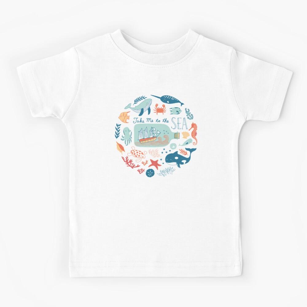 Llevame al mar Camiseta para niños
