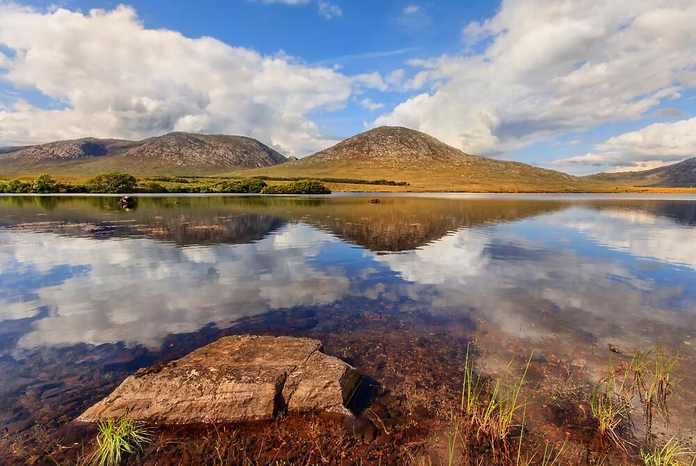 Lough Shindilla Connemara Galway Ireland. by MickBourke