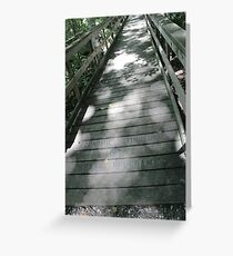 Tiffin Bridge Greeting Card