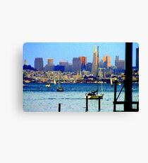 San Francisco Skyline... Canvas Print