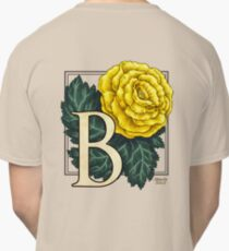 B is for Begonia Classic T-Shirt