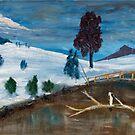 Ben Lomond Snow by rjpmcmahon