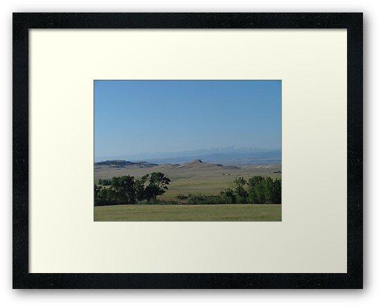 BIG PRAIRIE - BIGGER SKY by May Lattanzio