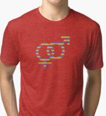 rainbow girls & boys Tri-blend T-Shirt