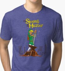 Sword of the Master Tri-blend T-Shirt