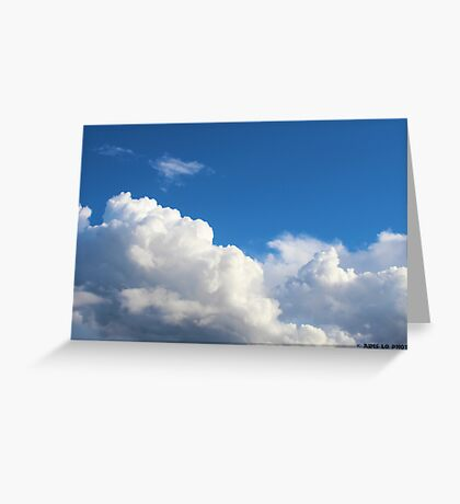 Cloud Number 9 Greeting Card