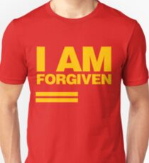 I AM FORGIVEN (ROYAL YELLOW) Unisex T-Shirt
