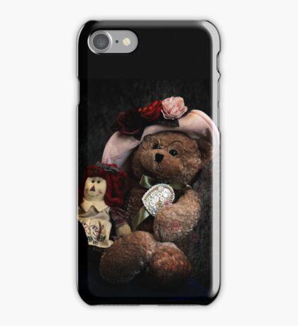 BFFs: Teddy Bear and Raggedy Ann iPhone Case/Skin