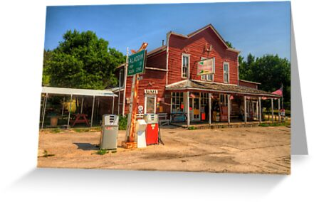 The Country Store - Aladdin, Wyoming Pop. 15 by Terence Russell