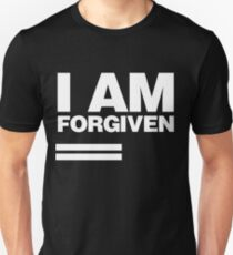 I AM FORGIVEN (WHITE) Unisex T-Shirt