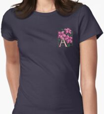 A is for Azalea - patch Womens Fitted T-Shirt