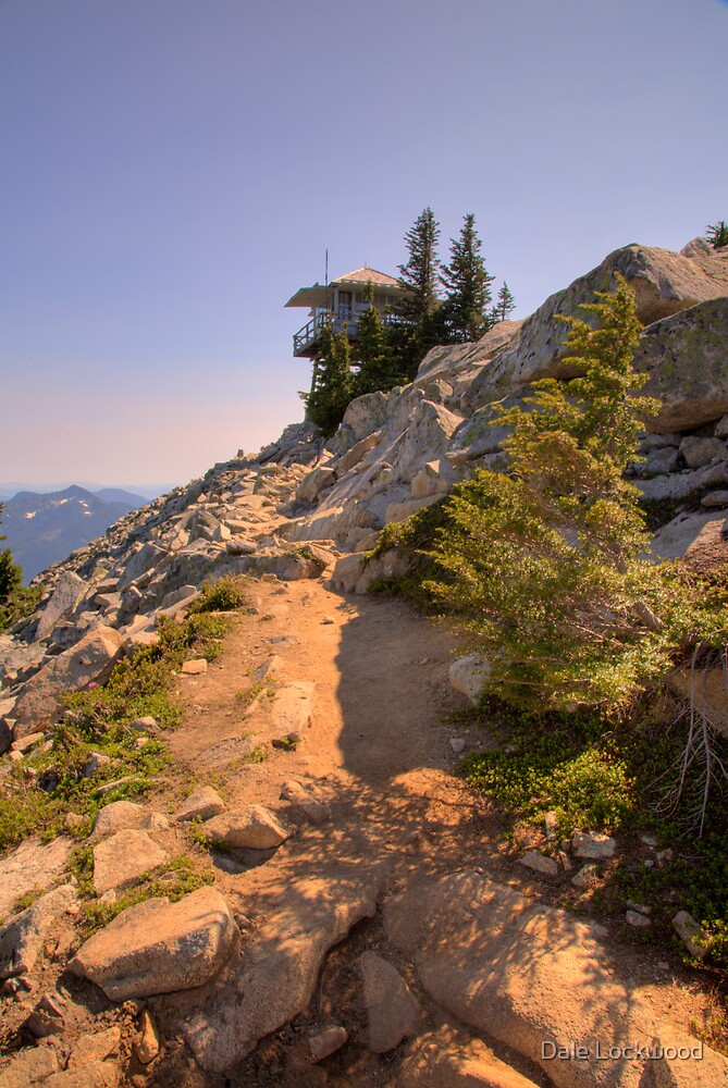 Granite Mountain Lookout by Dale Lockwood