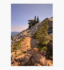 Granite Mountain Lookout Photographic Print