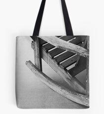 Grainy Old Adirondack Rocker Tote Bag
