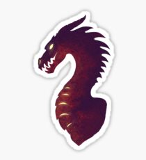 Medieval Dragon Sticker