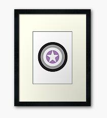 Captain Asexual Framed Print