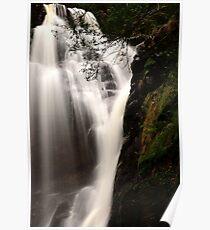 mathinna falls. northeast tasmania, australia Poster