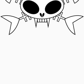 Cat skull t-shirt by trippitako