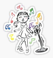 Sing Along Sticker