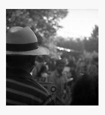 panama hat Photographic Print