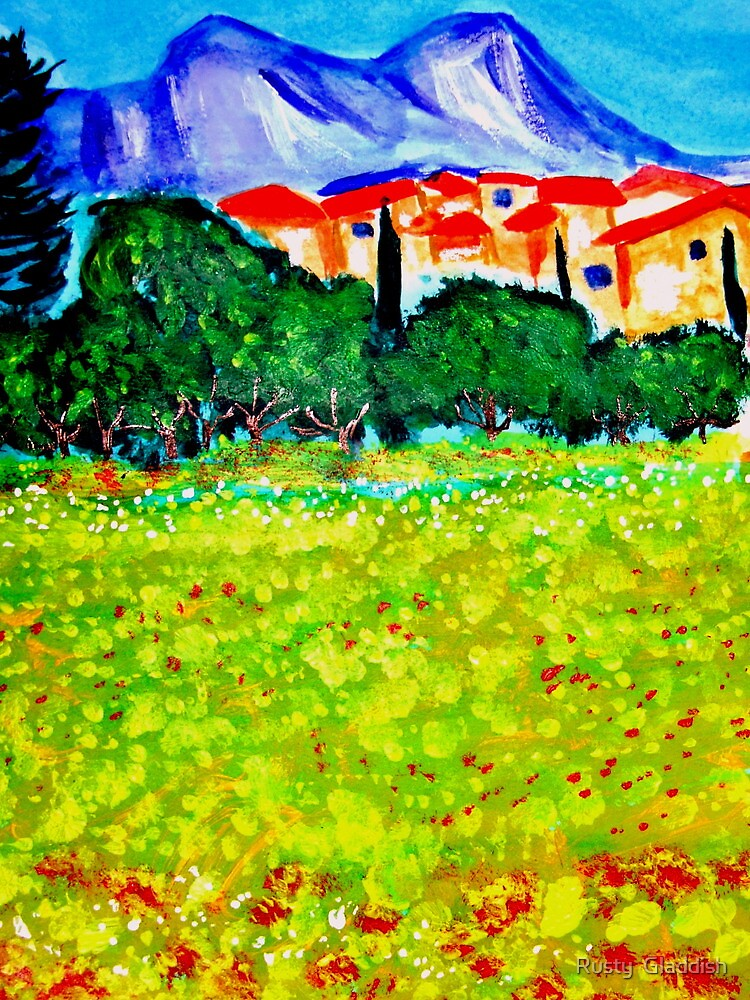 Les Alpilles by Rusty  Gladdish
