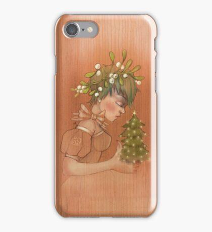 Girl 59 | Mistletoe iPhone Case/Skin