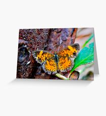 Yellow n Red Greeting Card