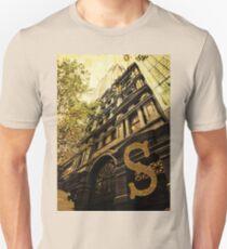 Grungy Melbourne Australia Alphabet Letter S Collins Street T-Shirt