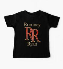 RR Romney Ryan Luxury Look T-Shirt Kids Clothes